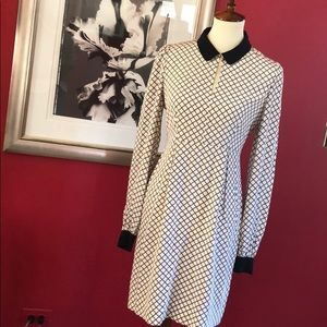 Kate Spade Clover Print Dress Size 4